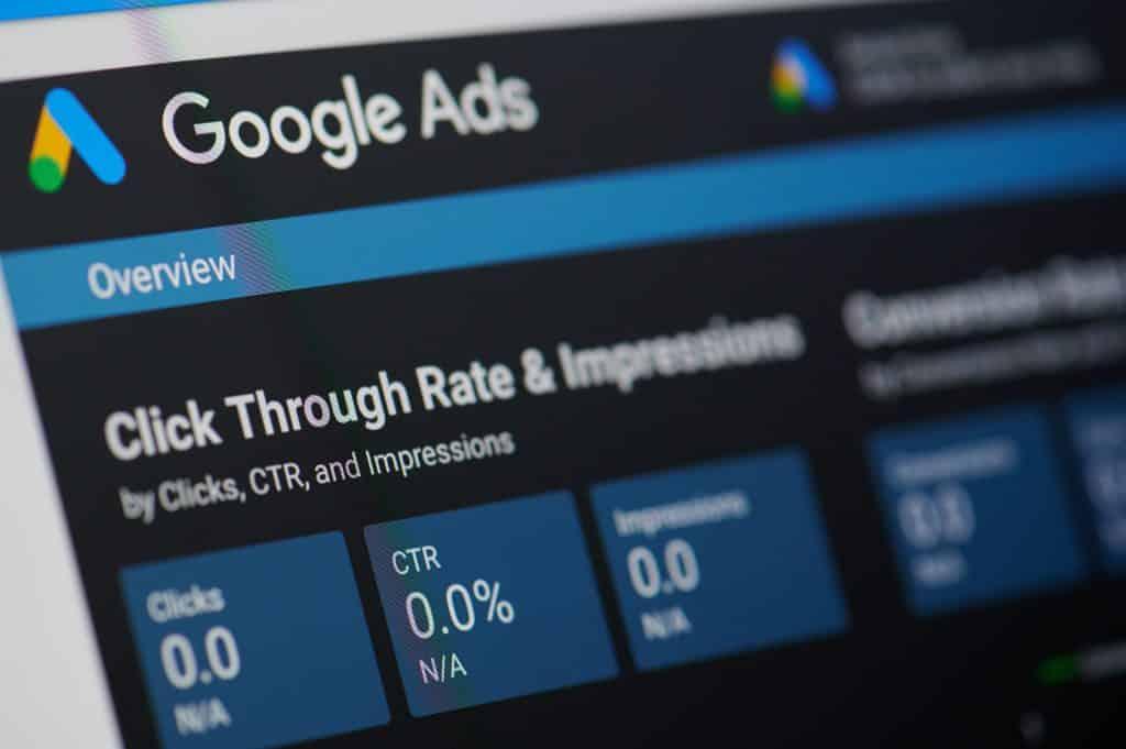 Tipos de anuncios de Google Ads